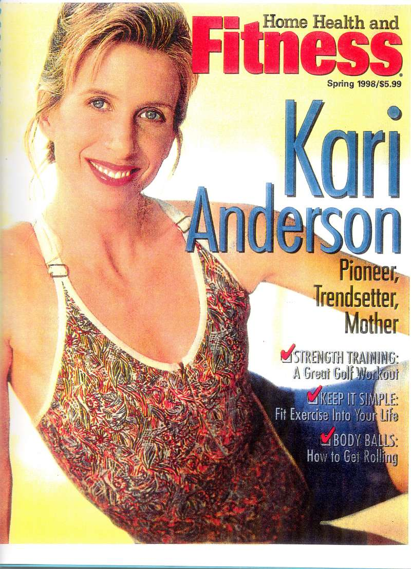 Kari Anderson Fitness About Kari Anderson Cardio And